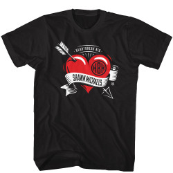 Image for WWE T-Shirt - Shawn Michaels HBK Pierced Heart