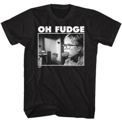 Image for A Christmas Story T-Shirt - Of Fudge Soap Pic