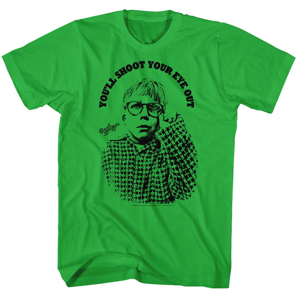 Christmas Story T Shirts.A Christmas Story T Shirt You Ll Shoot Your Eye Out