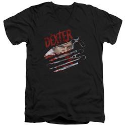 Image for Dexter T-Shirt - V Neck - Never Lies