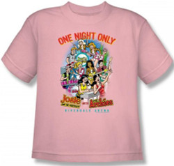 Image for Archie Comics Youth T-Shirt - One Night Only