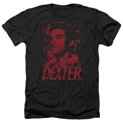 Image for Dexter Heather T-Shirt - Born in Blood