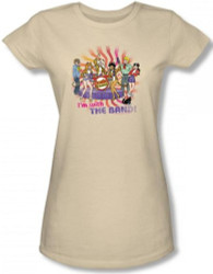 Image for Josie and the Pussycats With the Band Girls Shirt