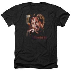 Image for Californication Heather T-Shirt - Smoker