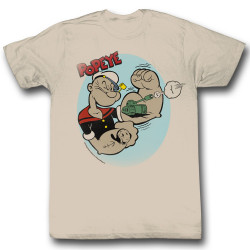 Image for Popeye T-Shirt - Tattoos