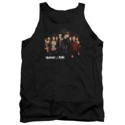 Image for Queer as Folk Tank Top - Title