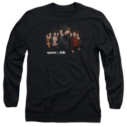 Image for Queer as Folk Long Sleeve T-Shirt - Title