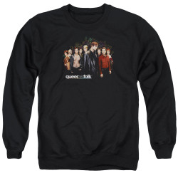 Image for Queer as Folk Crewneck - Title