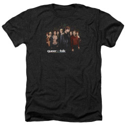 Image for Queer as Folk Heather T-Shirt - Title