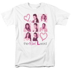 Image for The L Word T-Shirt - Hearts