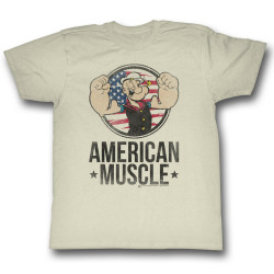 Image for Popeye T-Shirt - American Muscle