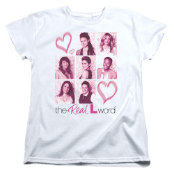 Image for The L Word Woman's T-Shirt - Hearts