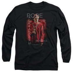 Image for The Borgias Long Sleeve T-Shirt - Pope Alexander VI