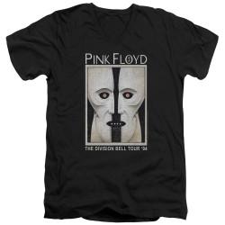 Image for Pink Floyd V-Neck T-Shirt The Division Bell