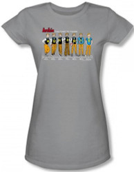 Image for Archie Comics Girls T-Shirt - Archie Timeline