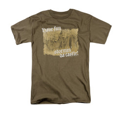 Image for The Princess Bride T-Shirt - Stormin' Da Castle