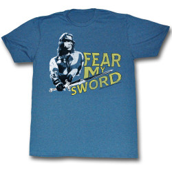 Image for Conan the Barbarian T-Shirt - Fear My Sword