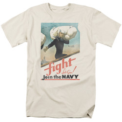 Image for U.S. Navy T-Shirt - Fight Let's Go