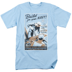 Image for U.S. Navy T-Shirt - Build Your Navy