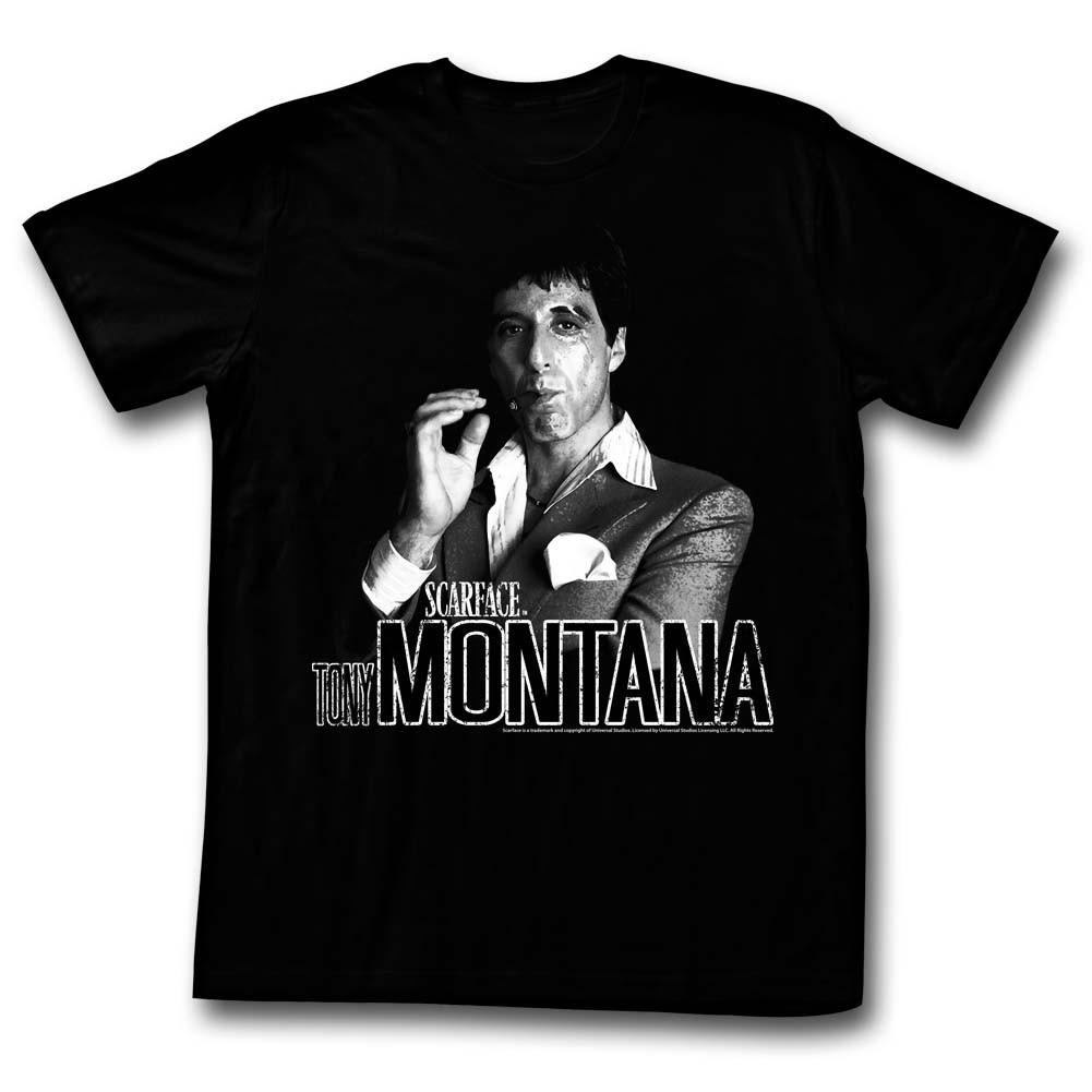 Nerdkungfu Scarface Montana T Shirt Tony ONnwkX8P0