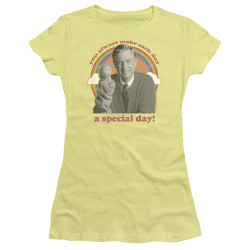 Image for Mr. Rogers Neighborhood Girls T-Shirt - A Special Day