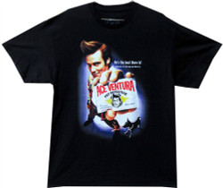 Image Closeup for Ace Ventura Pet Detective T-Shirt