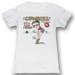Image for Betty Boop Girls T-Shirt - Ghetto Cowgirl