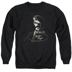 Image for Bettie Page Crewneck - Whip It!
