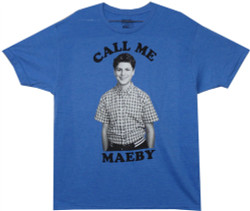 Image Closeup for Arrested Development Call Me Maeby T-Shirt