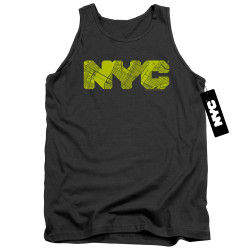 Image for New York City Tank Top - Map