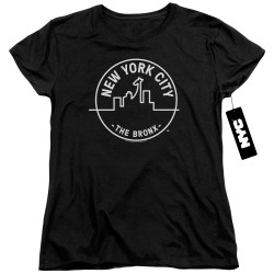 Image for New York City Womans T-Shirt - See NYC Bronx
