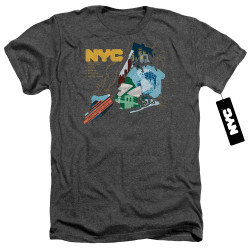 Image for New York City Heather T-Shirt - Five Boroughs