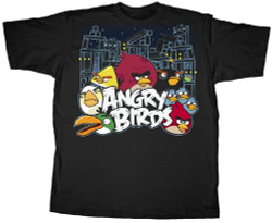 Image Closeup for Angry Birds Conflict T-Shirt