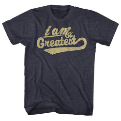 Image for Muhammad Ali T-Shirt - I Am the Greatest Cursive