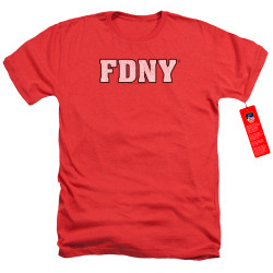 Image for New York City Heather T-Shirt - FDNY