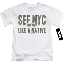 Image for New York City Kids T-Shirt - Like a Native
