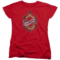 Image for Oldsmobile Womans T-Shirt - Detroit Emblem