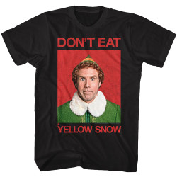 Image for Elf T-Shirt - Don't Eat Yellow Snow