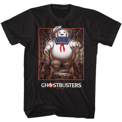 Image for Ghostbusters T-Shirt - Stay Puft Poster