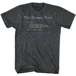 Image for The Oregon Trail Logo First Screen T-Shirt