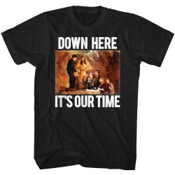 Image for The Goonies T-Shirt - Down Here It's Our Time