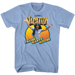 Image for National Lampoon's Vacation T-Shirt - Praise Marty Moose