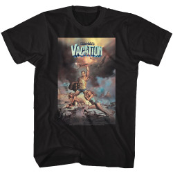 Image for National Lampoon's Vacation T-Shirt - Illustrated Movie Poster