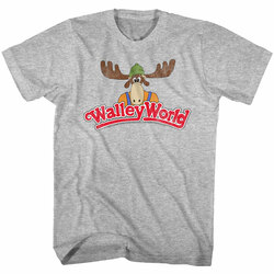Image for National Lampoon's Vacation T-Shirt - World Walley World Logo Distressed