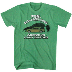 Image for National Lampoon's Christmas Vacation T-Shirt - Fun Old Fashioned