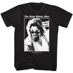 Image for The Big Lebowski T-Shirt - The Dude Minds, Man