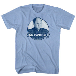 Image for Seinfeld T-Shirt - Cartwright