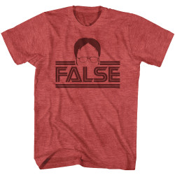 Image for The Office T-Shirt - Dwight Battlestar False
