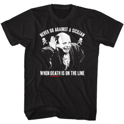 Image for The Princess Bride T-Shirt - Sicilian Quote with Photo