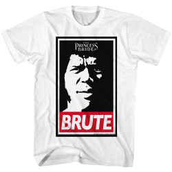 Image for The Princess Bride T-Shirt - Fezzik Obey Brute